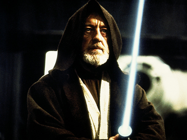 Fig30 Alec Guinness as Obi Wan Kenobi